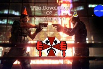 The Devolution of Resident Evil