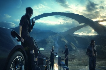 Final Fantasy XV Parked Car BagoGames