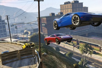 GTA V Online Car Stunts BagoGames