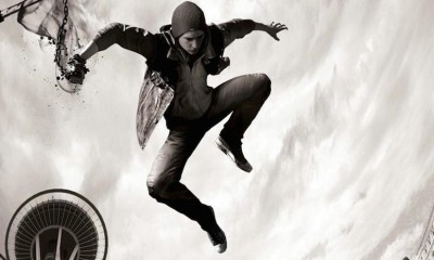 Infamous Second Son Black and White Art BagoGames