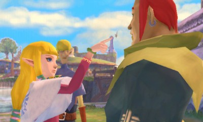 Legend of Zelda Skyward Sword Groose Told-Off BagoGames