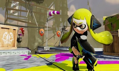 Splatoon Green Squid Girl BagoGames
