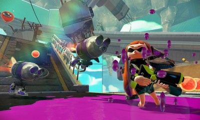 Splatoon Robot Attack BagoGames