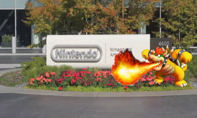 Nintendo of America Bowser