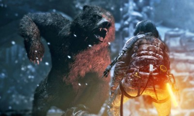 Rise of the Tomb Raider Bear BagoGames