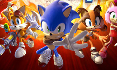 Sonic Boom Fire and Ice 3DS Cover Art BagoGames
