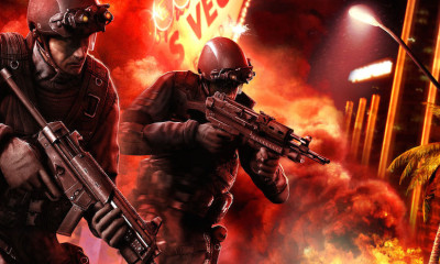 Rainbow Six New Vegas Promo Art BagoGames