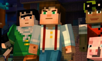 Minecraft Story Mode Ep1 Banner