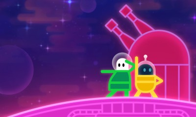 (Lovers in a Dangerous Spacetime, Asteroid Base)
